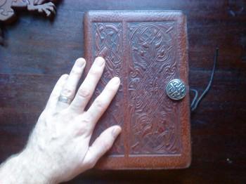 Ye olde trusty notebook.