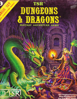 Erol Otus's Beautiful Basic D&D Boxed Set Cover