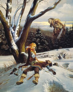 Larry Elmore can paint my D&D characters anytime, and twice on Sunday!