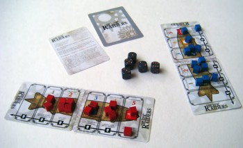 Sanders' Aether Captains game.
