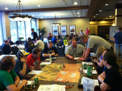 Stepping through the doors of The Lodge at Gary Con IV