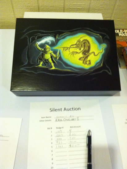 Original Erol Otus art in the silent auction