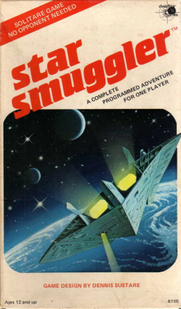 Star Smuggler, another paragraph-based adventure game from Dwarfstar