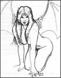 Sutherland III brought the succubus to my attention, and she's never left.