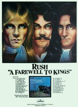 A Farewell to Kings Tour