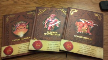 When old is new again, the reprints of 1E AD&amp;D by WotC