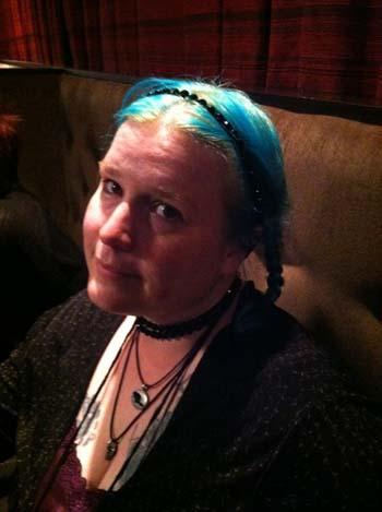 Writer Jeanine Marie Vaughn.