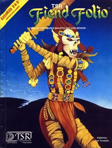 Fiends Folio for Advanced Dungeons &amp; Dragons, 1st Edition