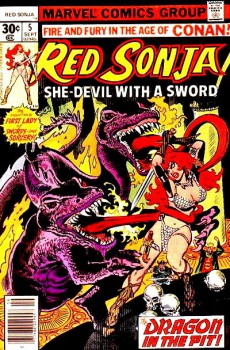 Red Sonja 5 cover