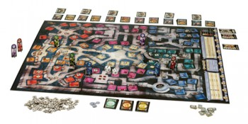 Dungeon board game from Wizards of the Coast