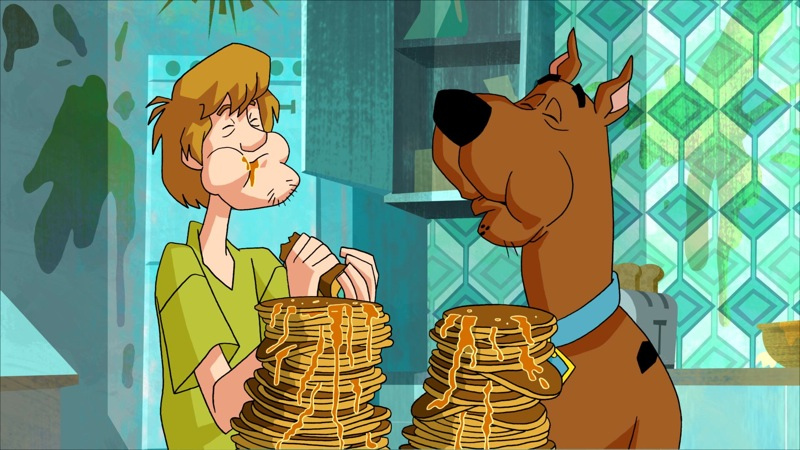 Scooby and Shaggy eating lots of junk food | Dexxe