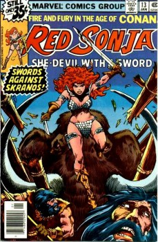Red Sonja 13 cover