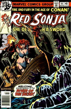 Red Sonja 14 cover