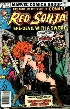 Red Sonja 15 cover