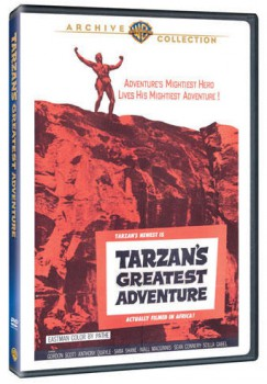 Tarzan's Greatest Adventure Warner Archive DVD