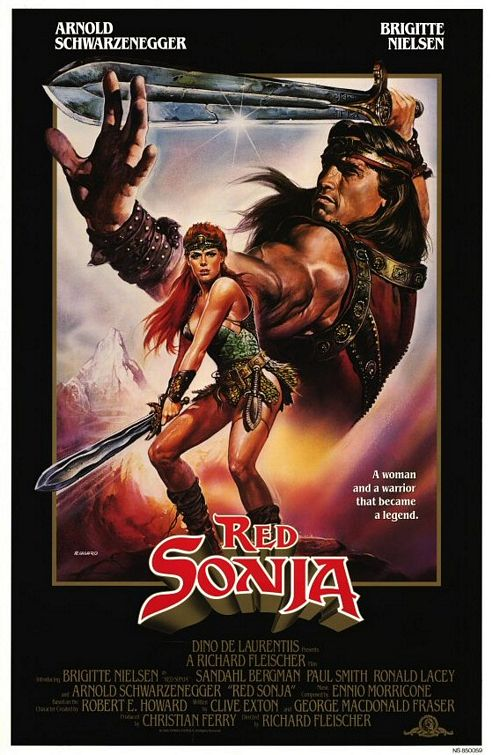 Red Sonja  The MovieRed Sonja Arnold Schwarzenegger