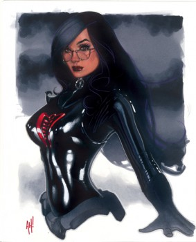 It seems to me the Baroness was made to be drawn by Adam Hughes...