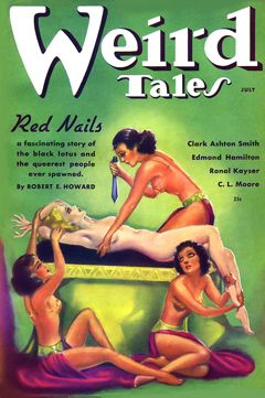 Weird Tales July 1936 Red Nails