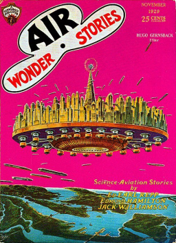 Air Wonder Stories November 1929