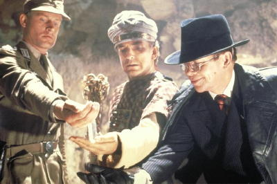 Raiders of the Lost Ark ending