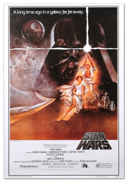 Star Wars movie poster-small