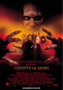 Ghosts of Mars One Sheet