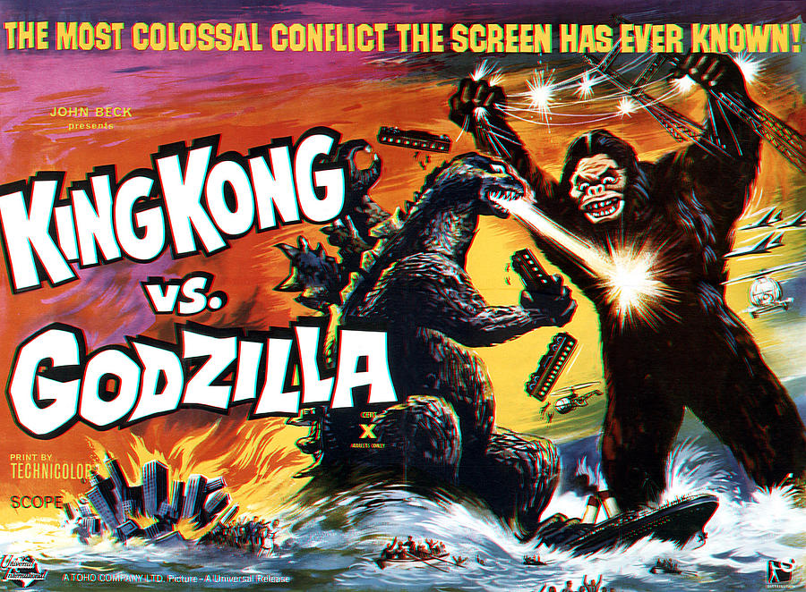 King Kong vs Godzilla US poster