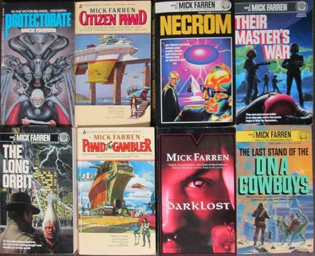 The Novels of Mick Farren-small
