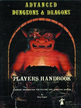 1st Edition Players Handbook