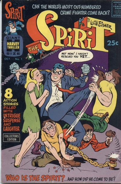 Harvey comics The Spirit 1966