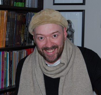 Me, in my fine chapeau and scarf