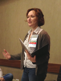 Mary Robinette Kowal reads from Valour and Vanity at Capricon 2014