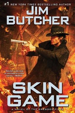 Skin Game Jim Butcher.-small