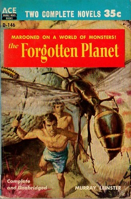 The Forgotten Planet. Cover art by Robert E. Schulz