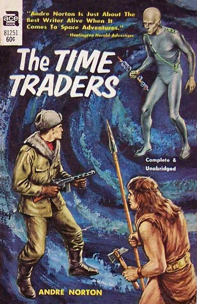 Andre Norton The Time Traders-small