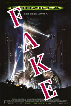 Godzilla Fake (1998)