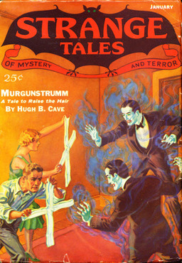 Strange Tales of Mystery and Terror January 1933-small