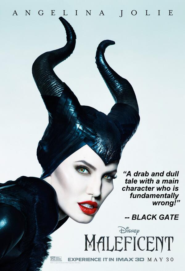 maleficent-imax-poster black gate review