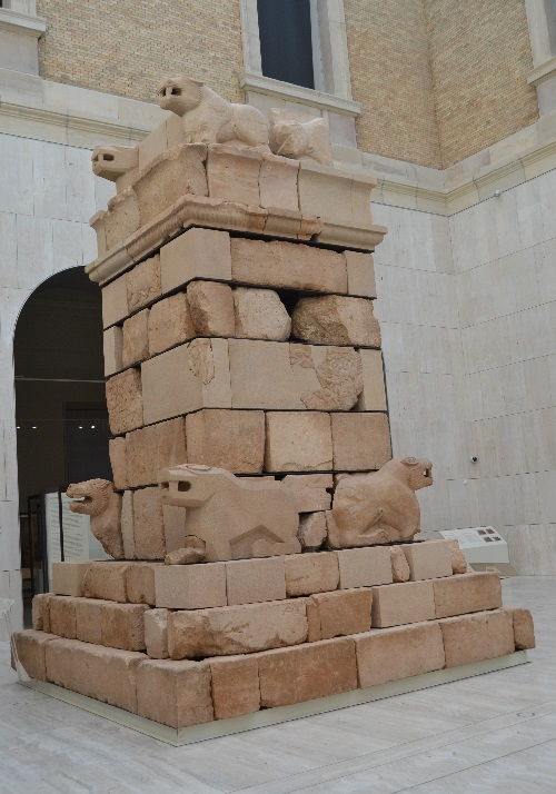 "The Pozo Moro Monument was a tall stone tower erected to mark the grave of an important person in the 6th century BC. Archaeologists interpret it as a ""soul tower"" for a deified king. It shows Phoenician influence and was the center of a large Celtiberian necropolis."