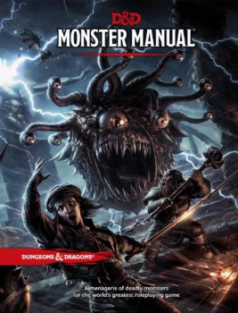 D&D Monster Manual Fifth Edition
