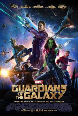 Guardians of the Galaxy poster-small