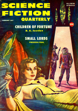 Science Fiction Quarterly February 1957 Ed Emshwiller-small