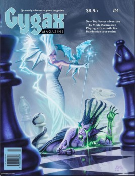 Working with artist Den Beauvais on a new Chess cover was a thrill beyond words for an old art geek like me!