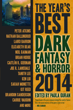 The Year's Best Dark Fantasy and Horror 2014-small