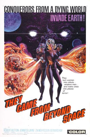 They Came From Beyond Space poster-small