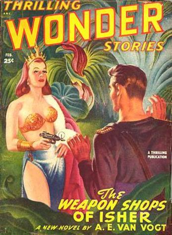 Thrilling Wonder Stories February 1949
