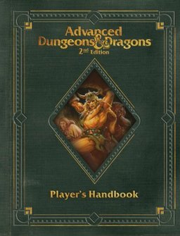 Premium 2nd Edition Advanced Dungeons & Dragons Player's Handbook-small