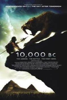 10,000 BC poster-small