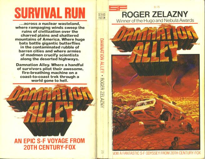 Damnation Alley Movie tie-in wrap