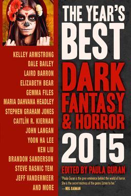 The Year's Best Dark Fantasy & Horror 2015-small